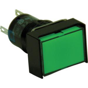 IDEC φ16長角形照光押しボタンスイッチ(AL6H-M14G)|protools