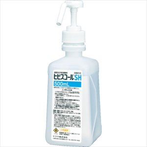 サラヤ 速乾性手指消毒剤 ヒビスコールSH 500ml(42309)|protools