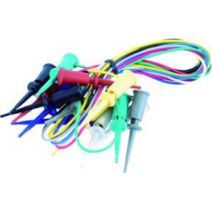 テイシン電機 ICテストリード 50cm マイクロICクリップS両端付(7本入)(TLA-111)|protools
