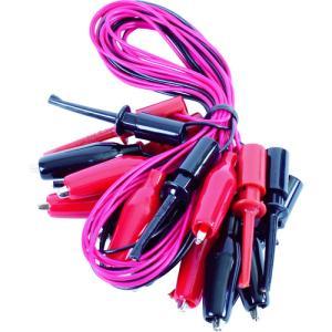 テイシン電機 テストリード50cmシールドクリップS⇔ICクリップS(10本入)(TLA-116)|protools