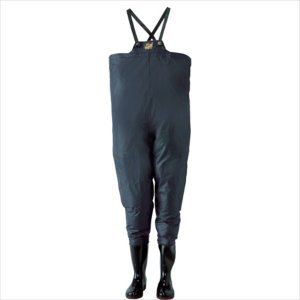 ロゴスコーポレーション クレモナ水産 胴付き長靴 鉄紺 24.5cm(10068245)|protools