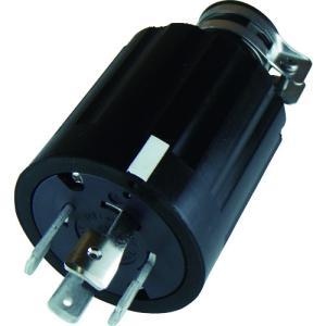 アメリカン電機 引掛形 ゴムプラグ 接地3P60A250V(4622R)|protools