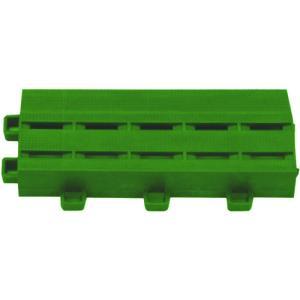 ミヅシマ工業 クロスラインマットエース 中フチ− 緑(420-0330)