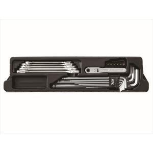 京都機械工具  KTC  SK007M-SB [BTO方式工具セット] (45000071)|protools