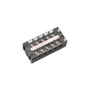 サトーパーツ 中継用2列型端子台 ML−11−50Fシリーズ 500V−50A(ML-11-50F-6P)|protools
