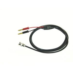 テイシン電機 電機 同軸テストリード1.5mバナナプラグ(金メッキ)⇔BNCプラグ(CCA-104)|protools