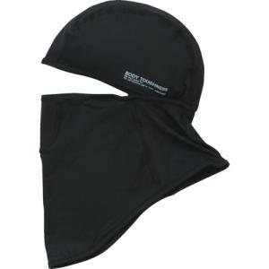 おたふく手袋 冷感・消臭 パワーストレッチフルフェイスマスク ブラック(JW-614-BK)|protools