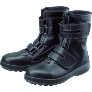 シモン 安全靴 長編上靴 マジック WS38黒 26.0cm【WS38-26.0】