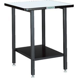 トラスコ中山 TRUSCO ELS型補助テーブル 500X500X600 アジャスター付(ELS-500)|protools