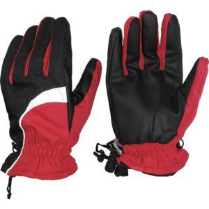 おたふく手袋 ホットエースプロライト(リフレクタータイプ) レッド×ブラック LL(HA-328-RB-LL)|protools