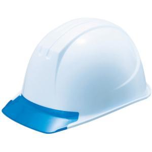 谷沢製作所 タニザワ エアライト搭載ヘルメット(PC製・透明ひさし型)(161-JZV-V5-W3-J)|protools
