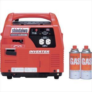 (代引き不可)やまびこ 新ダイワ インバータガスエンジン発電機(IEG900BG)|protools