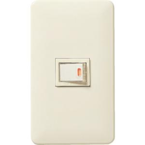 パナソニック ライフソリューションズ社 Panasonic フルカラー埋込ほたるスイッチC(WNP5152MWP)|protools