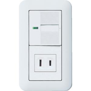 パナソニック ライフソリューションズ社 Panasonic コスモワイド埋込スイッチコンセントセット(WTP10016WP)|protools
