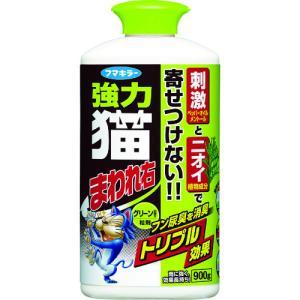 フマキラー 強力猫まわれ右粒剤900gグリーンの香り (439328)