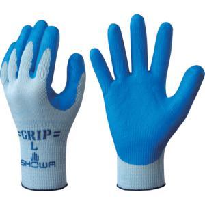 ショーワグローブ まとめ買い 簡易包装強力グリップ Lサイズ ブルー(NO360-L10P) protools