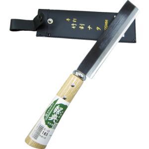 五十嵐刃物工業 鋼典 竹割ナタ 木鞘完全包装(C-121)|protools