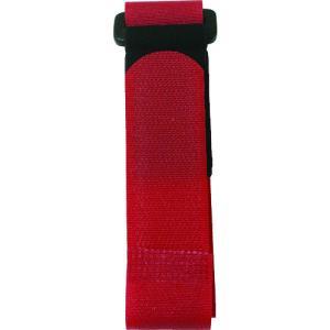 ユタカメイク マジックテープ フリーバンド 25mm×40cm レッド G-66 (G-66)|protools