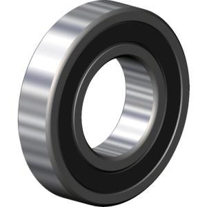 CCTYベアリングジャパン 標準ベアリング ベストバリュー合成ゴム接触両側シール内輪径15×外28(6902 2RS)|protools