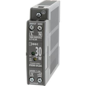 IDEC PS5R−V形スイッチングパワーサプライ(薄形DINレール取付電源)(PS5R-VC24)|protools