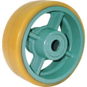 ヨドノ 鋳物重荷重用ウレタン車輪ベアリング入 UHB250X90 (UHB250X90)|protools