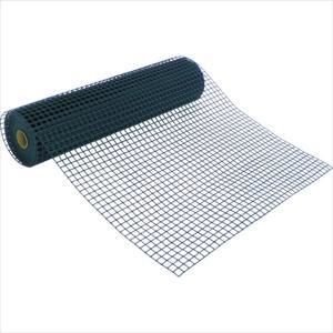 トラスコ中山 TRUSCO 多目的樹脂ネット グリーン1mX5m 目合25mmX25mm (T-H07PB-5M)|protools