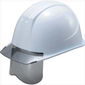 谷沢製作所 タニザワ エアライト搭載グレーシールド面付ヘルメット (161VJ-SHGR-V2-W3-J)|protools