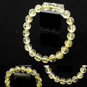 [Original天然石] 透明感と金針 ゴールドルチル A4 [9mm]100034|proud