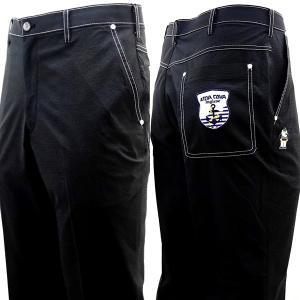 シナコバ ¥21000+税[88] ゴルフ パンツ メンズ SOLOTEXDRY 縦ポケット ヒップ...