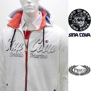 シナコバ ¥43000+税[L] パーカー ジャケット メンズ フロントシニールロゴデザイン SINACOVA SARDEGNA 20221003      sc KNs m 20113020|proud
