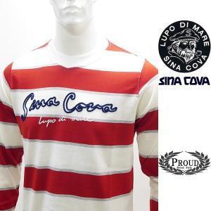 シナコバ ¥23000+税[L] 長袖 Tシャツ メンズ ケーブルステッチワークデザイン SINACOVA SARDEGNA 20221005    sc KNs m 20110020|proud
