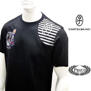 カステルバジャック ¥23000+税[L/48] 半袖 Tシャツ メンズ Destination Evasion Swiss Cotton Premium 20301004   jc KNs m 21470126|proud
