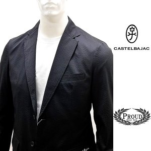 カステルバジャック ¥36000+税[LL/50]ジャケット メンズ サマーイージーカジュアルテーラード 20301054     jc KNs m 21510103|proud
