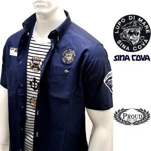 シナコバ ¥26000+税[L] 半袖 シャツ メンズ 5ポイント シナコバレーシングシャツ SINACOVA GENOVA 20301079      sc KNs m 20124570|proud