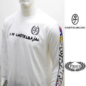 カステルバジャックアウトレット ¥23000+税 [48/L] 長袖 Tシャツ スリーブテープデザイン Jc de castelbajac 20905027              jc KNf m 21670123|proud