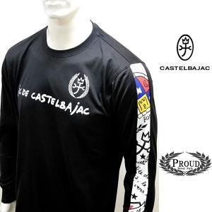 カステルバジャック ¥23000+税 [50/LL] 長袖 Tシャツ スリーブテープデザイン Jc de castelbajac 20905030              jc KNf m 21670123|proud