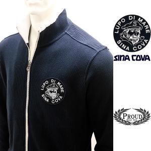 シナコバアウトレット ¥33000+税[L] ジャケット メンズ ビッグブランドアイコン コットンニットタイプ SINACOVA  GENOVA 20911003  sc KNf m-e  20223010|proud