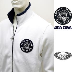 シナコバ ¥33000+税[L] ジャケット メンズ ビッグブランドアイコン コットンニットタイプ SINACOVA  GENOVA 20911005      sc KNf m 20223010|proud
