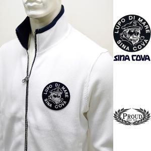 シナコバアウトレット ¥33000+税[LL] ジャケット メンズ ビッグブランドアイコン コットンニットタイプ SINACOVA  GENOVA 20911006 sc KNf m-e  20223010|proud