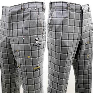 シナコバ ¥28000+税[88] ゴルフ パンツ メンズ チェック柄 フロントアイコニックモデル SOFTTHERMO SINACOVA INGLESE 20911020  sc KNf m 20255010|proud