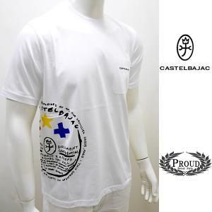 カステルバジャックアウトレット ¥16000+税[48/L] 半袖Tシャツ メンズ サイドビューモデル JC de Castelbajac 21223029   jc KTs m 21670109|proud