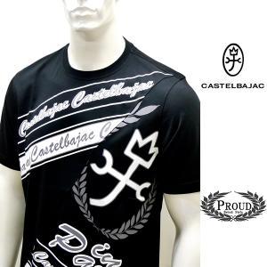 カステルバジャックアウトレット ¥23000+税[50/LL] 半袖Tシャツ メンズ In PARIS クルーネック フロントビューモデル 21223036   jc KTs m 21970109|proud