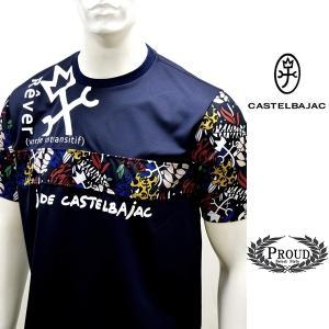 カステルバジャック ¥21000+税[50/LL] 半袖Tシャツ メンズ Rever verbe intransitif 21223071   jc KTs m 21970118|proud