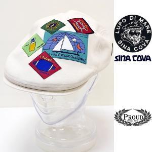 シナコバ ¥13000+税[F] ハンチング ヘッドパッチワークデザイン メンズ 帽子 21226026       sc KTs m 21177700|proud