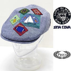 シナコバ ¥13000+税[F] ハンチング ヘッドパッチワークデザイン メンズ 帽子 21226027       sc KTs m 21177700|proud