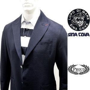 シナコバ ¥53000+税[L] ジャケット メンズ サマーイージーテーラード COOL MAX SINACOVA PORTOFINO 21226028       sc KTs m 21133010|proud