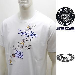 シナコバ ¥15000+税[L]半袖 Tシャツ メンズ マリンアートデザイン SINACOVA GENOVA 21226045    sc KTs m 21120550|proud