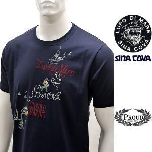 シナコバ ¥15000+税[LL]半袖 Tシャツ メンズ マリンアートデザイン SINACOVA GENOVA 21226048    sc KTs m 21120550|proud