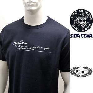 シナコバ ¥12000+税[L] 半袖Tシャツ メンズ Perchi ama il mare バックショットモデル SINACOVA GENOVA 21226051   sc KTs m 21120520 proud