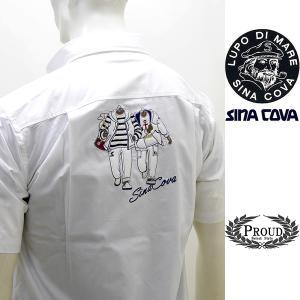 シナコバ ¥26000+税[L] 半袖シャツ メンズ バックショットモデル SINACOVA GENOVA 21226072      sc KTs m 21124550|proud